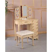 Wrought Iron Vanity Set Coaster Frosted Black Wrought Iron Makeup Vanity Table Set With