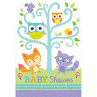 woodland baby shower invitations woodland baby shower invitations 8ct party city canada