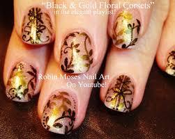 nail art design for short nails diy sheer gold corset tutorial