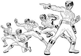 99 ideas power rangers colouring emergingartspdx