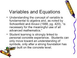 hands on algebra for k 2 learners