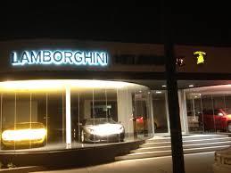 lamborghini showroom building hsj corporate services australia corporate signage lamborghini