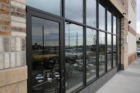 Metal Curtain Wall Denver Storefront Glass Window Replacement Glass Curtain Wall
