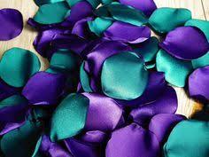 Blue And Purple Flowers Aqua Blue And Purple Flower Petals Mixture Teal And Purple Rose