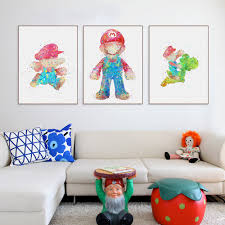 Super Mario Home Decor by Online Buy Wholesale Super Mario Art From China Super Mario Art