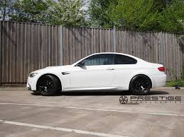 bmw black alloys bmw m3 e92 coupe with ispiri irs10 concaved alloy wheels in matt
