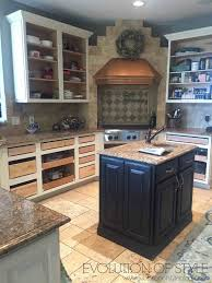 kitchens with different colored cabinets my kitchen cabinet makeover 2 0 evolution of style
