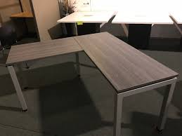 grey desk with drawers newport grey desk 60 x 60 no drawers golden state office furniture