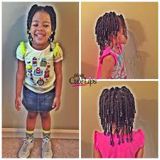 two strand twist beads natural hairstyles for kids http