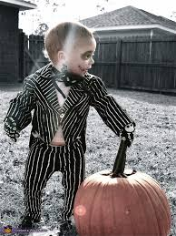 Jack Pumpkin King Halloween Costume Toddler Jack Skellington Costume Photo 2 3