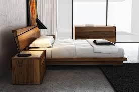 Modern Platform Bed Frames Swan Modern Platform Bed King Size Model 4000k