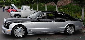 custom bentley arnage bentley brooklands coupe car diary