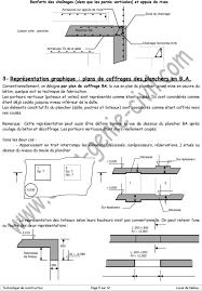 Pose En Coffrage Armatures Sur Plans Les Parois Horizontales Les Planchers Pdf