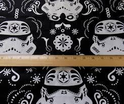 sugar skulls home decor stormtrooper fabric stormtrooper sugar skull fabric star wars