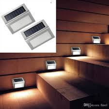 new led solar lights staircase lights led corner outdoor garden
