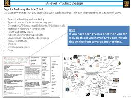 design brief a level a level product design 2015 6 ppt video online download