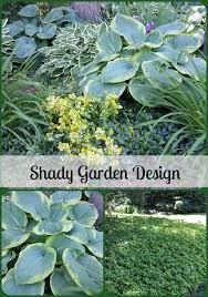 Shady Garden Ideas Our Garden Design With Hosta And Ground Cover