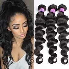 pics of loose wave hair unprocessed 6a quality 4pcs lot brazilian virgin hair loose wave