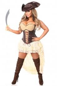 Captain Halloween Costume Pirate Costumes Cheap Pirate Costume Wench Costume