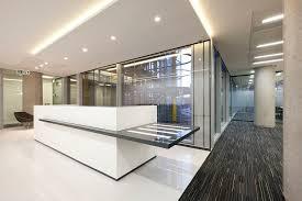 Bespoke Reception Desk Corian Reception Desk Fusion Office Design