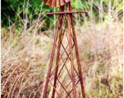 backyards chic ornamental windmill galvanized with tips 3