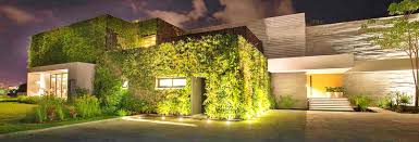 Home Lighting Design Insulating Veil Of Plants Envelops Stunning Vallarta House In