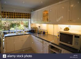 modern fitted kitchen modern fitted kitchen stock photo royalty free image 13543878