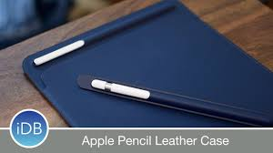 apple pencil case apple s new leather case for apple pencil prevents rolling broken