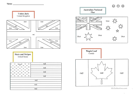 speaking countries flags coloring pages 100 images project for