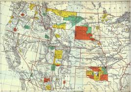 map usa indian reservations american documents project