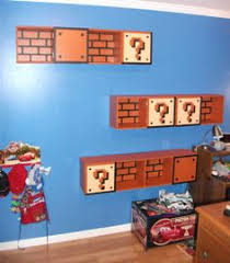 Super Mario Home Decor Super Mario Castle Backboard For Kids Bedroom Designed By Build A