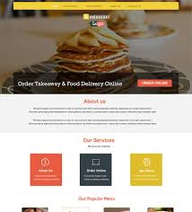 restaurant online ordering system website for restaurant