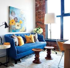 Living Room With Blue Sofa Cobalt Blue U0026 Why Home Decor Loves It