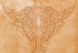 nouveau pillar ornament by mermaliorx on deviantart