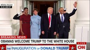 White House Tours Obama by The Obamas Greet The Trumps At White House Cnn Video