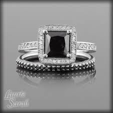 black engagement ring set 98 best black diamonds images on jewelry rings and