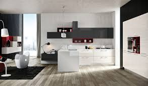 red modern kitchen kitchen designs that pop