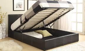 Fabric Ottoman Storage Richmond Grey Fabric Ottoman Storage Bed King