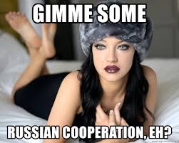 Russian Girl Meme - russian girl ushanka hat meme generator