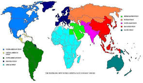 middle east map united nations un divides the world into 10 regional groupings