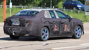 lynk u0026 co 03 electric sedan spied