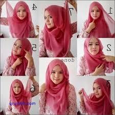 tutorial jilbab segi 4 untuk kebaya 10 tutorial lengkap cara memakai jilbab segi empat untuk kebaya