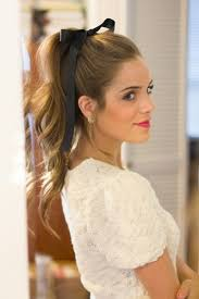 ribbon ponytail add a ribbon 7 gorgeous ways to dress up your ponytail
