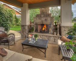 Covered Patio Pictures And Ideas Patio Fireplace Nativefoodways Org