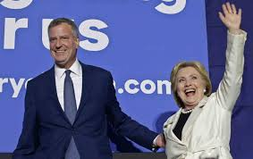 how the clinton camp brushed off bill de blasio and his