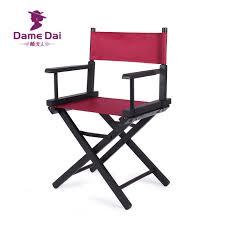 si e de plage pliant en bois pliable administrateurs chaise de siège en toile et dos en