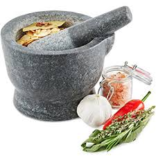 mortier de cuisine andrew mortier pilon premium en granit qualité robuste