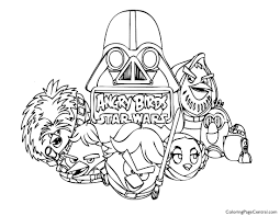 angry birds star wars 01 coloring coloring central