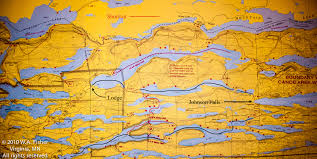 Boundary Waters Map East Bearskin Lake Route Clearwater Historic Lodge