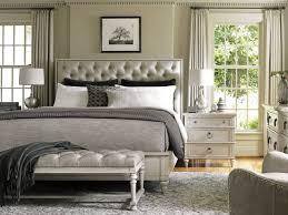 upholstered bedroom set oyster bay 4 piece sag harbor tufted upholstered bedroom set in